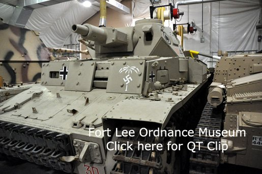 Fort Lee Ordnance Museum Va.